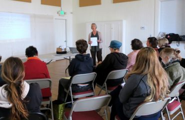 Image: HR practitioner Lisa McCormack, Coast Women in Business meeting